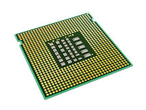 Computer microprocessor Stock Image