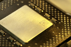 Computer Microprocessors Stock Photos