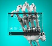 Computer mobile di concetto Royalty Illustrazione gratis