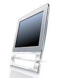 Computer monitor. Fine details. ai file available vector illustration