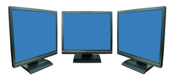 Computer monitor Stock Photography