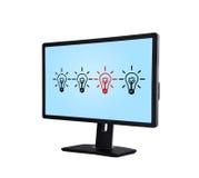 Computer monitor Royalty Free Stock Image