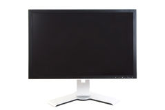 Computer Monitor, Black Screen Royalty Free Stock Images