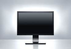 Computer monitor with clipping path Stock Photography