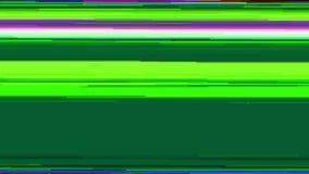 Computer-Monitor-Digital-Störschub-Effekt stock abbildung