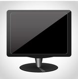 Computer monitor icon for websites UI Royalty Free Stock Images