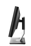 Computer monitor isolated - side view Royalty Free Stock Photos