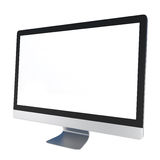 Computer Monitor isolated on white. 3d illustration Stock Photos