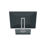 Computer Monitor Notebook Laptop, Television Backside. Icon Vector Illustration. on White Background.  royalty free illustration