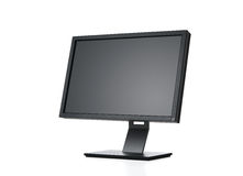 Computer monitor with path Stock Photos