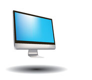 Computer monitor screen Royalty Free Stock Photos