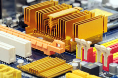 Computer mother board Stock Photos