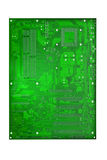 Computer mother board Stock Image