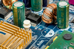 Computer motherboard Royalty Free Stock Photos
