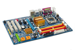 Computer motherboard royalty free stock photography