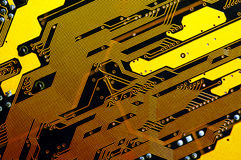 Computer Motherboard Royalty Free Stock Image
