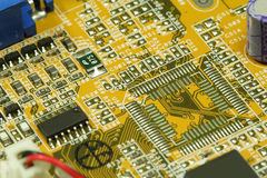 Computer motherboard Royalty Free Stock Photo