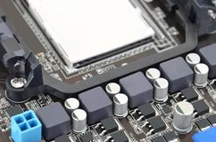 Computer motherboard board Royalty Free Stock Image