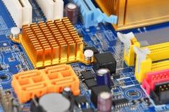 Computer motherboard, DOF Stock Photos