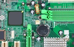 Computer motherboard Stock Images