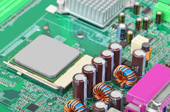Computer motherboard Stock Image