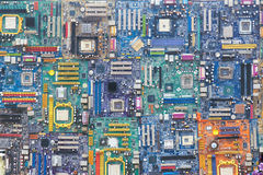 Computer motherboards Royalty Free Stock Photography
