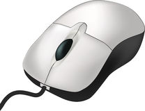 Computer mouse. Internet isolated technology Stock Photography