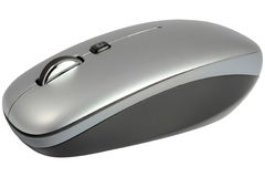 Computer Mouse. Isolated On White Royalty Free Stock Photos