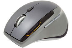 Computer Mouse. Special Computer Mouse Used For Playing Games Isolated On White Stock Photos
