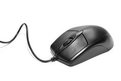 Computer mouse. Isolated on a white background stock photography