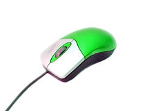Computer mouse. Isolated on white. (with clipping path Stock Photo