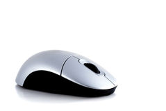 Computer mouse. On white background, modern style Stock Photos