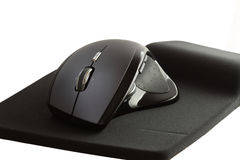Computer Mouse. And mouse pad royalty free stock photography