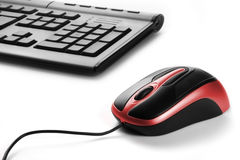 Computer mouse. With white background Stock Images