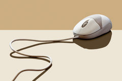 Computer mouse in a classic style. In earthy colors Royalty Free Illustration