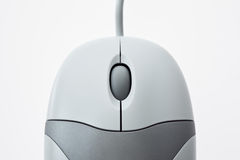 Computer mouse close-up. Computer mouse on white close-up of buttons Stock Illustration