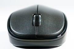 Computer mouse close up macro shot. stock image
