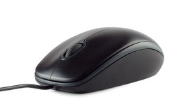Computer mouse device. On white background Stock Images