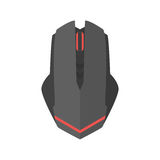 Computer mouse icon vector scrolling equipment. Royalty Free Stock Photography