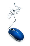 Computer mouse isolated Royalty Free Stock Image