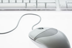 Computer mouse isolated Stock Photo