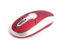 Computer Mouse Isolated On White Stock Image