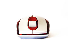Computer mouse isolated on the white background Stock Image