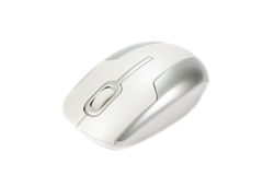 Computer mouse isolated on white background Royalty Free Stock Images