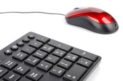 Computer mouse and keyboard Royalty Free Stock Image