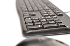 Computer Mouse And Keyboard Stock Photography