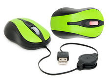 Computer mouse for a laptop Stock Image