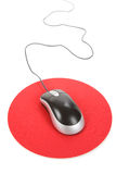 Computer Mouse and pad Royalty Free Stock Photography