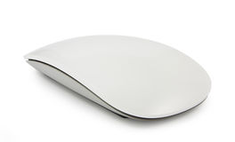 Computer mouse on a white Stock Image
