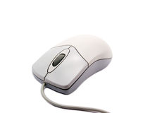 Computer mouse on white background with soft shadow 2 Royalty Free Stock Photos